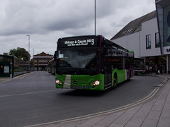 IB 153 (BF65 HVT) Route 9, Tower Ramparts bus station, Ipswich 11-10-16 (APB Photography™) Tags: ipswichbuses towerramparts bus station 153 bf65hvt mercedesbenz citaro