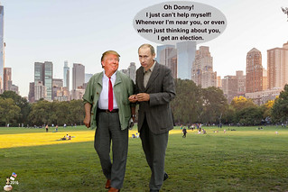 Donny and Vlad Strolling Through Central Park