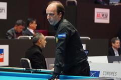 Daniel Sanchez - Spain (Ton Smilde) Tags: danielsanchez biljarten billiardplayers billiards threecushion worldchampionshipbordeaux