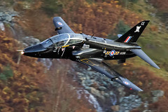 RAF Hawk T1, Thirlmere, 15/11/2016 (TheSpur8) Tags: t1 uk trainers aircraft date hawk landlocked lakedistrict lowlevel military skarbinski roughcrag 2016 anationality places transport