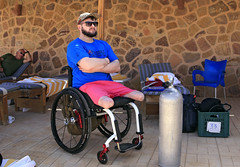 HiRes Ben 02 HiRes (KnyazevDA) Tags: diver disability undersea padi paraplegia amputee underwater disabled handicapped owd aowd scuba
