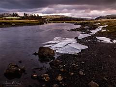 A magic visit in the beautiful Scotland (clavileo) Tags: escocia river rio scotland europe highland sea winter ice hielo water