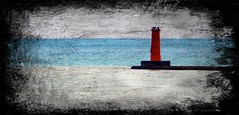 Lighthouse (imageClear) Tags: lighthouse effects filter picmonkeycom editing sheboygan wisconsin artistic aperture nikon d500 80400mm color smudge imageclear flickr photostream