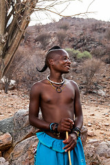 Young Himba Male 4020 (Ursula in Aus) Tags: africa namibia portrait himba male offcameraflash