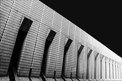 Hong Kong 28 (kruser1947 (all killer no filler)) Tags: bw blackwhite monochrome abstract architecture hongkong