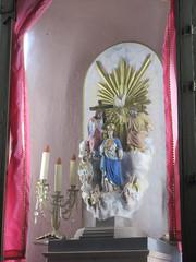 Virgencita de las Tres Ave Maras, Templo del Oratorio de San Felipe Neri, San Miguel de Allende, Mexico (Paul McClure DC) Tags: sanmigueldeallende mexico bajo guanajuato nov2016 church historic sculpture