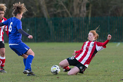 Altrincham LFC vs Stockport County LFC - December 2016-185 (MichaelRipleyPhotography) Tags: altrincham altrinchamfc altrinchamlfc altrinchamladies alty amateur ball community fans football footy header kick ladies ladiesfootball league merseyvalley nwrl nwrldivsion1south nonleague pass pitch referee robins shoot shot soccer stockportcountylfc stockportcountyladies supporters tackle team womensfootball