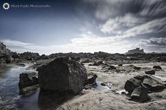 Castle Bamburgh, Northumberland (Silent Eagle  Photography) Tags: sep silent eagle photography canon sea seascape longexposure leefilters rocks clouds outdoor shadows iso50 lee 50sec deaf