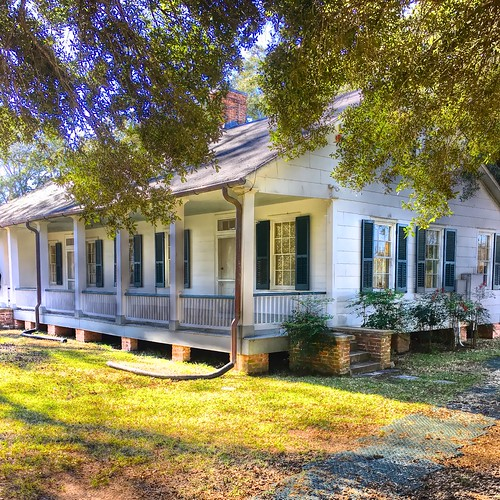 Overseer's House, Oakland Plantation, Cane River Creole National Historical Park