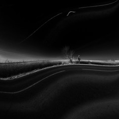 waves in emptiness (old&timer) Tags: background infrared blackandwhite minimal filtereffect surreal song4u oldtimer imagery digitalart laszlolocsei