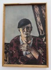 """""""Selbstbildnis mit schwazer Kappe"""", 1934, Max Beckmann (1884-1950), Musée Ludwig (1986), Cologne, Rhénanie du Nord-Westphalie, Allemagne. (byb64) Tags: muséeludwig peterludwig museumludwig cologne köln colonia rhénaniedunordwestphalie nordrheinwestfalen northrhinewestphalia renaniadelnortewestfalia renaniasettentrionalevestfalia rhénanie rhineland rheinland renania ville allemagne deutschland germany germania alemania europe europa eu ue rfa nrw stadt ciudad town citta city musée museum museo artmoderne xxe 20th artcontemporain expressionisme expressionismus derblauereiter diebrücke entartetekunst beckmann maxbeckmann"""