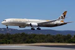 A6-BLJ Etihad Airways Boeing B787-9 Dreamliner (johnedmond) Tags: perth ypph australia boeing b787 787 dreamliner etihad aviation aircraft aeroplane