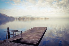 TRAUNSEE - AUSTRIA (VINCENT MOYASHI) Tags: traunsee see lake austria clouds water sky evening winter nature landscape flickr beautiful
