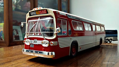 Hachette GMC New Look Bus Model (3) (Alexander Ly) Tags: ttc toronto transit commission hachette collection france montreal montrealnord nord quebec canada ontario gm gmc gmdd new look bus autobus fishbowl tdh5301 old vintage city vieux scale model modele reduit