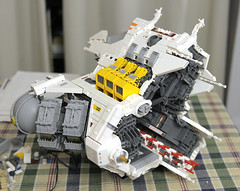 OMG an update (Blake Foster) Tags: lego space spaceship microscale