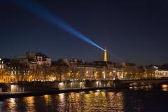 Spotlight (MrBlackSun) Tags: conjunction moon venus paris night twilight dusk nikon d600 nikond600