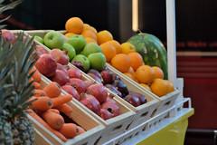 Fruits (Sreejesh Kalari Valappil) Tags: ishootraw iamnikon inuae uae abudhabi ferrariworld fruits apple carrot pomegranate orange pineapple sigma70300 d7100 дубай