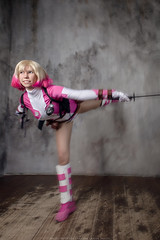 __IMG_0023_ (DashaOcean) Tags: marvel cosplay gwen stacy poolw spidergwen spiderwoman spider woman gwenpool