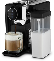 Gourmia GCM6500 - 1 Touch Automatic Espresso Cappuccino & Latte Maker - Italian Style Coffee Machine - Brew & Froth Milk In Cup with the Push of One Button - Programmable Taste - Nespresso Compatible (saidkam29) Tags: automatic brew button cappuccino coffee compatible espresso froth gcm6500 gourmia italian latte machine maker milk nespresso programmable push style taste touch