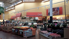 Angled look at the deli and bakery (Retail Retell) Tags: hernando ms walmart desoto county retail project impact decor supercenter store 5419 interior
