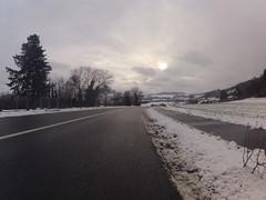 Zwischen den Schneefällen