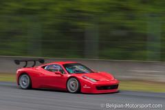 Ferrari 458 Italia Challenge evo (belgian.motorsport) Tags: new hot festival race italia ferrari brakes glowing circuit challenge evo zolder 2014 458 brcc