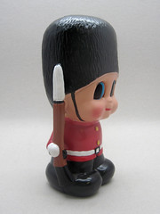 Queen's Guard Cutie (The Moog Image Dump) Tags: uk london tower st infantry toy coin guard bank palace cutie figure buckingham cavalry jamess kewpie bearskin queen's