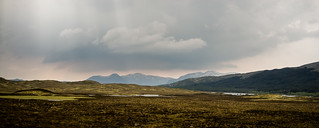 Rannoch Moor from the train.
