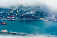 City of Dreams (Greg Noel) Tags: clouds newfoundland nikon stjohns newfoundlandandlabrador