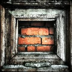 """""""Кирпичная стена"""". Масло. Холст. Художник - Жэк Капремонтов. #cachetag #кэштег #painting #streetart #brickwall"""