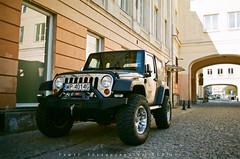 Jeep Wrangler (Pawe Skrzypczyski) Tags: analog 35mm superia olympus zuiko fujicolor om2sp