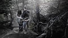 Wild(erness) (karlwpfeiffer) Tags: light mist love forest dark hope weird couples creepy odd