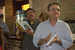 Lançamento do livro: Messias Pontes, O Guerrilheiro da Palavra