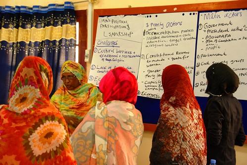 UN Women programme launch in Puntland