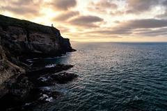 Peering across the Otago Peninsula (Taha Dar) Tags: ocean new travel sea canon landscape pacific south zealand otago peninsula