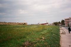 Cyprus2000-447 (Tai Pan of HK) Tags: lighthouse faro mediterranean cyprus un unitednations farol greenline phare mediterraneansea famagusta bufferzone famagosta unbufferzone famagouste unficyp arsinoe republicofcyprus      unitednationsbufferzone   cityof365churches
