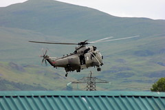 Royal Navy Sea King (barronr) Tags: army scotland stirling navy helicopter armedforcesdaynationalevent