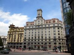 Cajastur, Plaza de la Escandalera, Oviedo, Spain (Paul McClure DC) Tags: espaa architecture spain asturias historic oviedo june2014