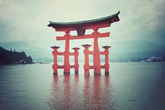 Miyajima + Torii | Japan, July 2014 (Sebastien BERTRAND) Tags: japan canon streetphotography streetphoto torii japon  photoderue myajima eos40d canon40d fotomato sebfotomato sbastienbertrand sebastienbertrand