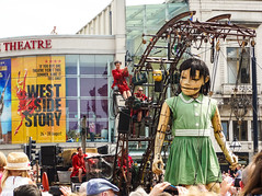 North-West Side Story (Fleety Vision) Tags: girl liverpool giant spectacular theatre empire giants 2014