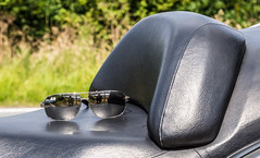 Sun glasses (CWhatPhotos) Tags: pictures 2003 camera digital honda silver that lens four photo focus foto with view artistic photos pics wing picture large pic scooter have fotos 600 presentation which timeless maxi contain omd thirds capacity silverwing em10 fjs olympusl cwhatphotos