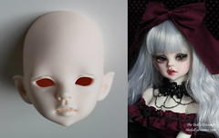DIM Doll in Mind BJD Benetia (thedollydreamer) Tags: ball doll vampire goth mind bjd custom dim jointed faceup benetia
