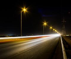 Filaments of light _ خيوط من نور (! FOX) Tags: canon eos fox 7d ahmad panning ahmed أحمد a7mad a7med احمد الطريق خاين طريق خائن الثمامة فوكس الخاين الخائن al5ain 5ain
