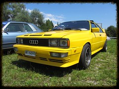 Audi Quattro (v8dub) Tags: auto old classic car wheel drive automobile 4x4 4 automotive voiture oldtimer oldcar wd audi collector quattro youngtimer wagen pkw klassik worldcars