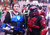MCM Expo Manchester UK 2014 (Red Spartan) (McCluckles) Tags: uk manchester comic expo mark july halo v reach con 19th mcm 2014