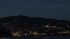 Costa ligure Agosto 2014 - Ligurian coast in August 2014 (l.fabio64) Tags: light sky italy panorama night landscape italia liguria august olympus agosto cielo luci notte paesaggio liguriansea 2014 panoramicview ligurian liguriancoast marligure costaligure golfodeltigullio e410 olympuse410