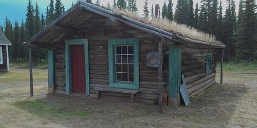 Fort Selkirk cabin