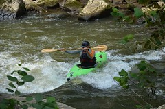 Slippery Rock Creek - Pa (Mike Woodfin) Tags: park color mill nature water canon photography photo cool dangerous nikon rocks whitewater stream pretty kayak fuji photos awesome country picture paddle canoe pa photograph slippery mcconnells slipperyrockcreek paddlers portersville mikewoodfin mikewoodfinphotography