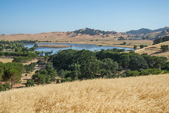 Lagoon View - Lagoon Valley Park - Solano County - California - 22 June 2014 (goatlockerguns) Tags: california park county usa mountains west nature natural unitedstatesofamerica vacaville lagoon valley solano fairfield vaca