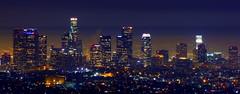 L.A Nights (RaulHudson1986) Tags: california city longexposure panorama beautiful fog skyline night canon movie lights la artistic famous griffithobservatory mulhollanddrive 2014 eeuu losngeles raulhudson1986